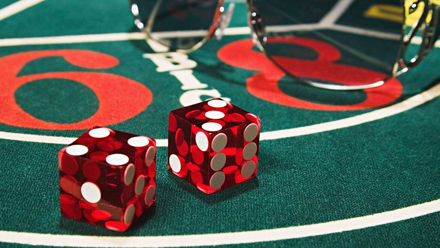 How to bet on craps game