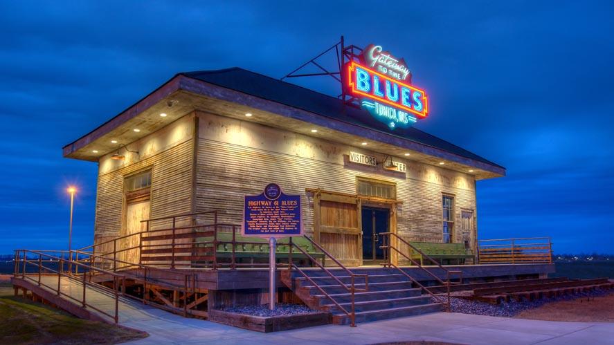 Gateway to the Blues Museum Progress